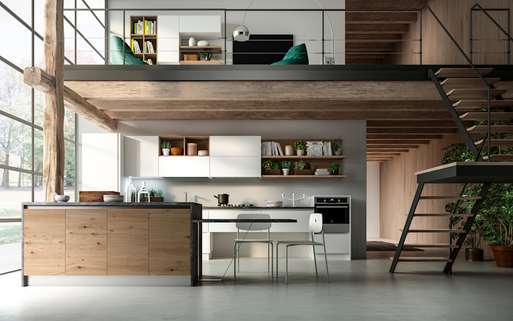 Kitchen by Atra Cucine, Eclectic