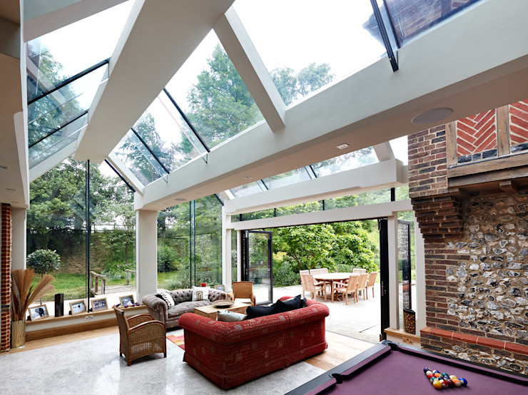 Internal photo Modern living room by Trombe Ltd Modern