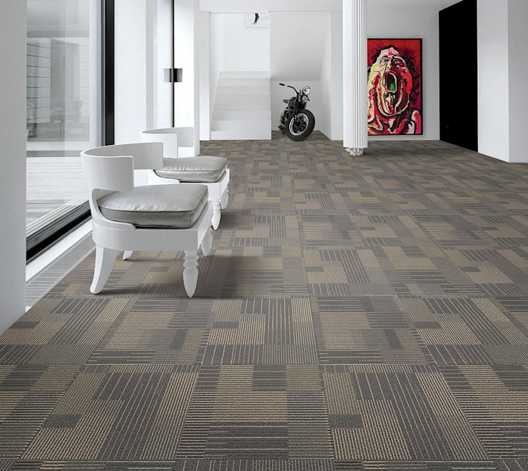 Amazing Design with Carpet Tiles Industasia Paredes y pisosAlfombras