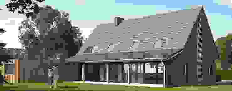 Schuurwoning Bleskensgraaf Moderne huizen van Brand I BBA Architecten Modern