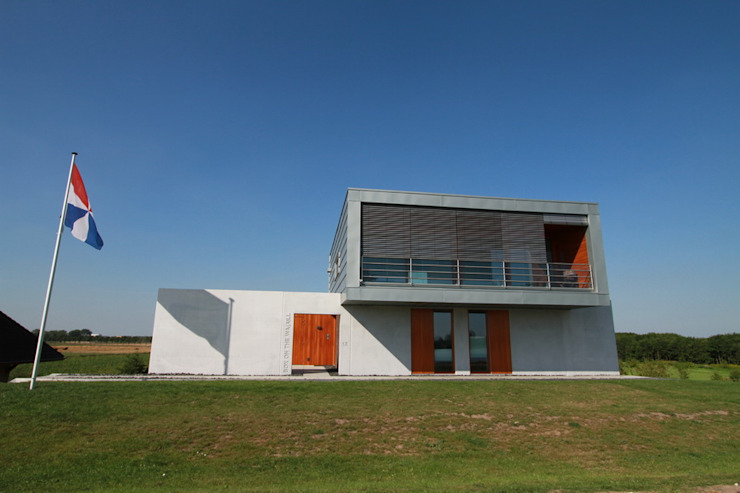 Case moderne di Brand I BBA Architecten Moderno