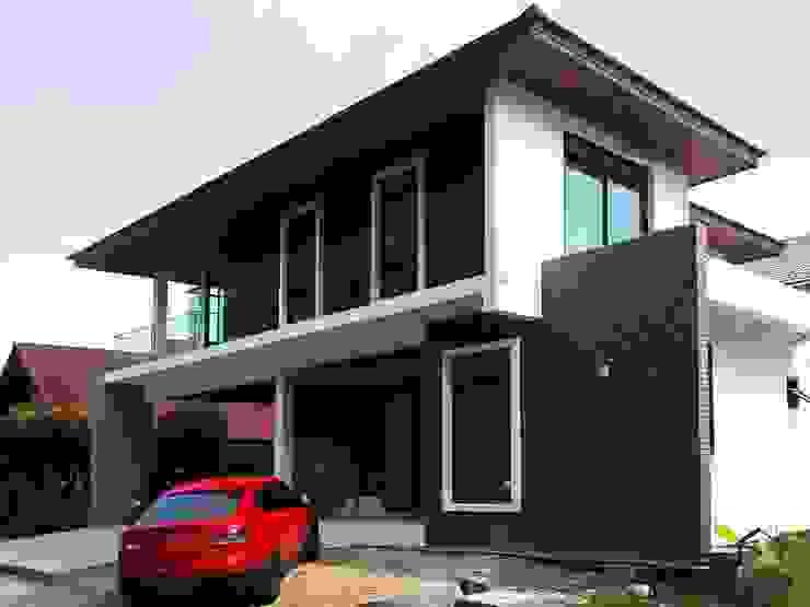 งานก่อสร้างบ้าน SERITHAI HOUSE โดย Backyard Construction