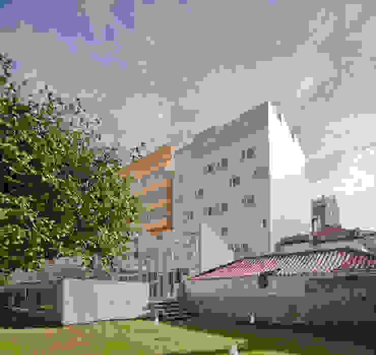 79 Building in Porto Casas minimalistas por Pedro Mendes Arquitectos Minimalista