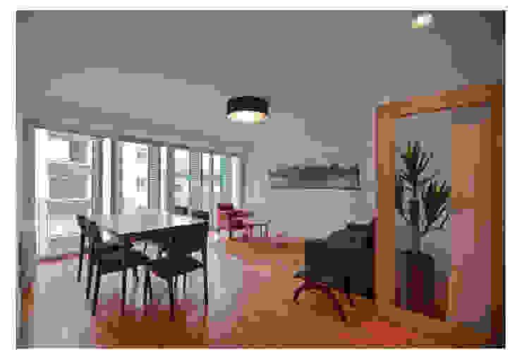 79 Building in Porto Salas de estar minimalistas por Pedro Mendes Arquitectos Minimalista