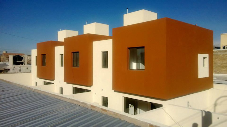 Deptos Casas modernas: Ideas, imágenes y decoración de ARQUITECTO MAURICIO PIZOLATTO Moderno