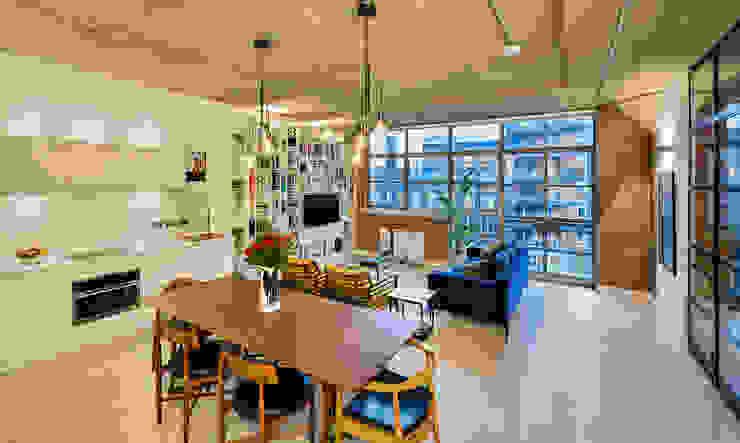Living Mono-space by Warret & Jullion Scandinavian