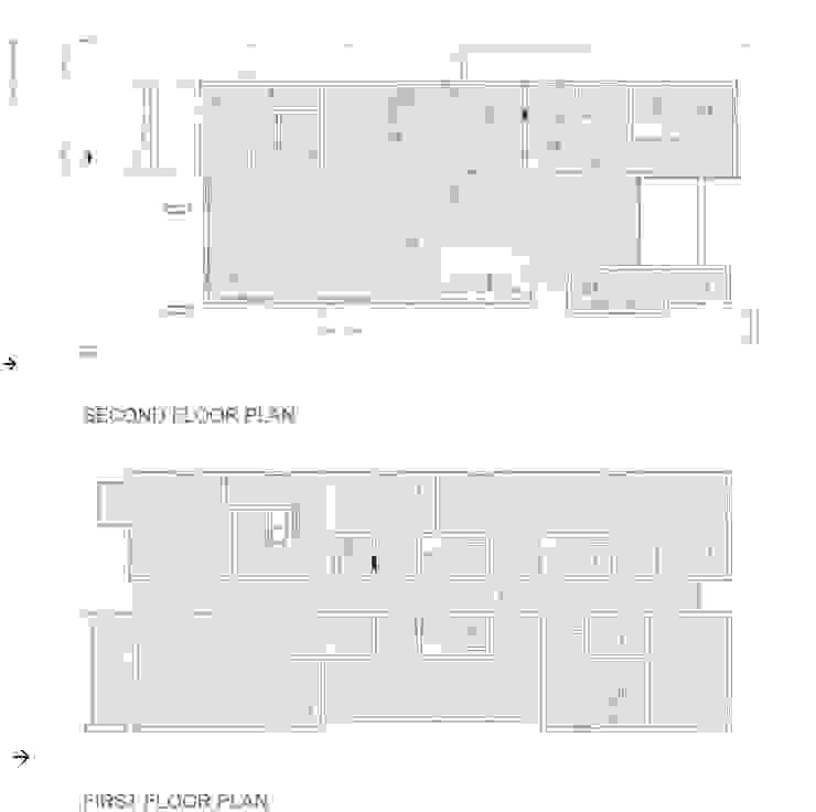 Zeta Beta Tau Fraternity House Reconstruction Modern Walls and Floors by studioWTA Modern