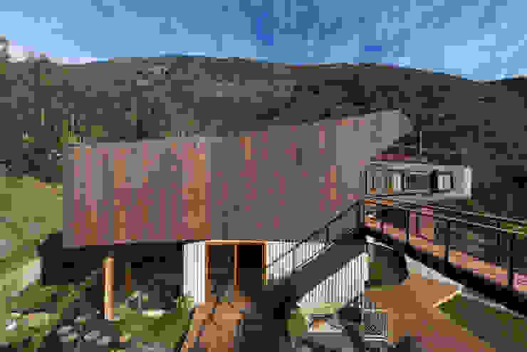 Casa El Maqui Casas estilo moderno: ideas, arquitectura e imágenes de GITC Moderno