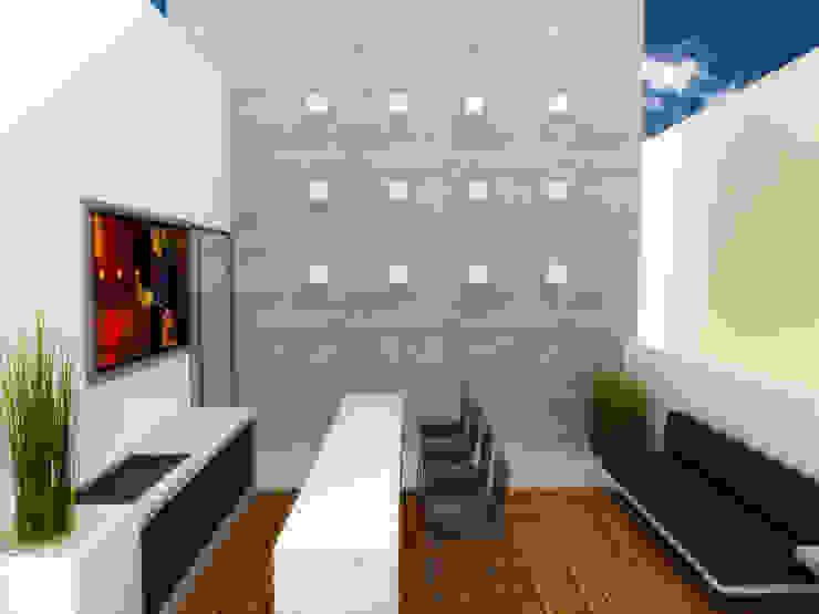 TERRAZA Balcones y terrazas minimalistas de DLR ARQUITECTURA/ DLR DISEÑO EN MADERA Minimalista
