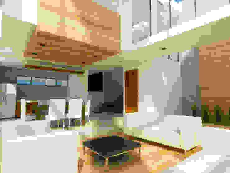 SALA Salas de estilo minimalista de DLR ARQUITECTURA/ DLR DISEÑO EN MADERA Minimalista