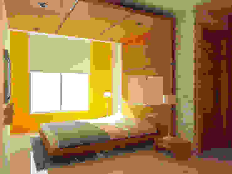 AREA DE CAMA Dormitorios de estilo minimalista de DLR ARQUITECTURA/ DLR DISEÑO EN MADERA Minimalista