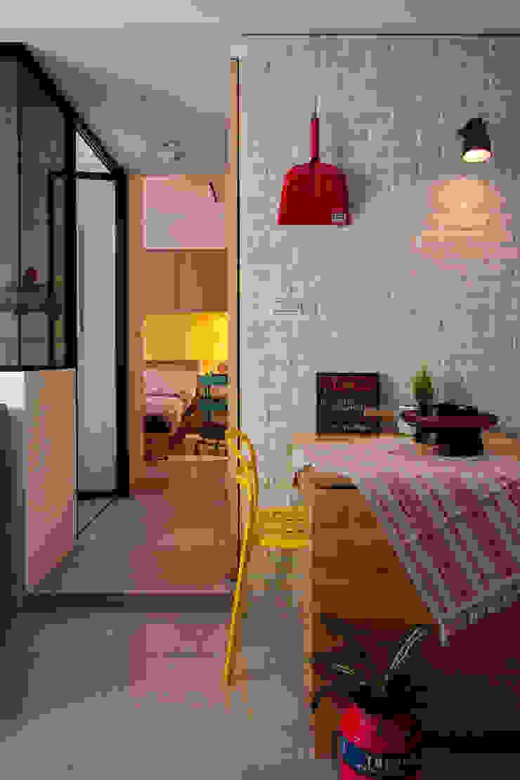 餐廳 Scandinavian style dining room by 一葉藍朵設計家飾所 A Lentil Design Scandinavian