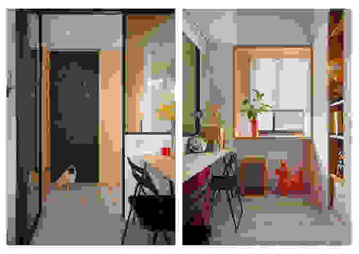 書房/客房 根據 一葉藍朵設計家飾所 A Lentil Design 北歐風
