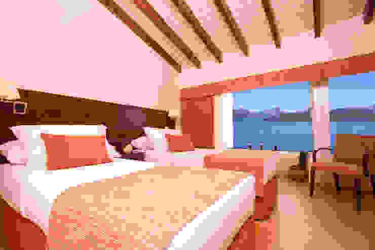 Hotel Sol Arrayan Dormitorios modernos: Ideas, imágenes y decoración de Sidoni&Asoc Moderno