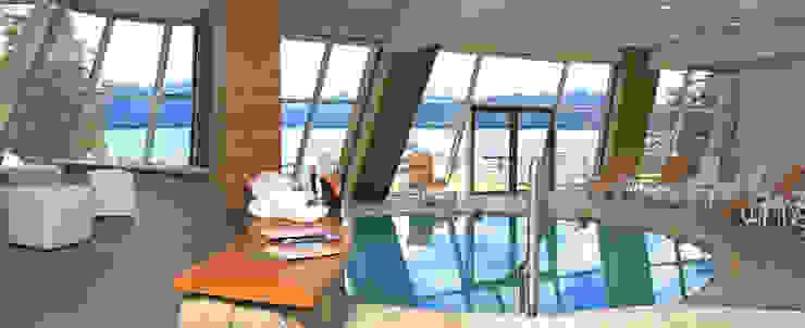 Hotel Sol Arrayan Spa modernos de Sidoni&Asoc Moderno
