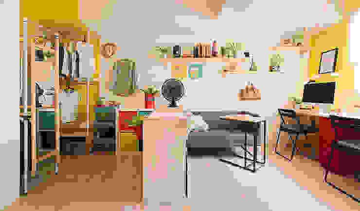 客廳:  客廳 by 一葉藍朵設計家飾所 A Lentil Design