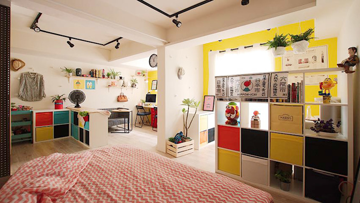 臥室 一葉藍朵設計家飾所 A Lentil Design Scandinavian style bedroom