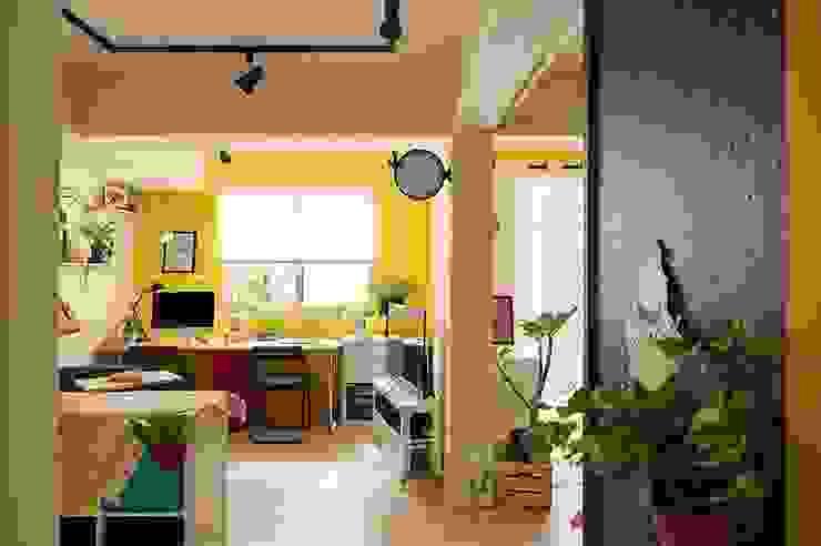 工作區 by 一葉藍朵設計家飾所 A Lentil Design Scandinavian