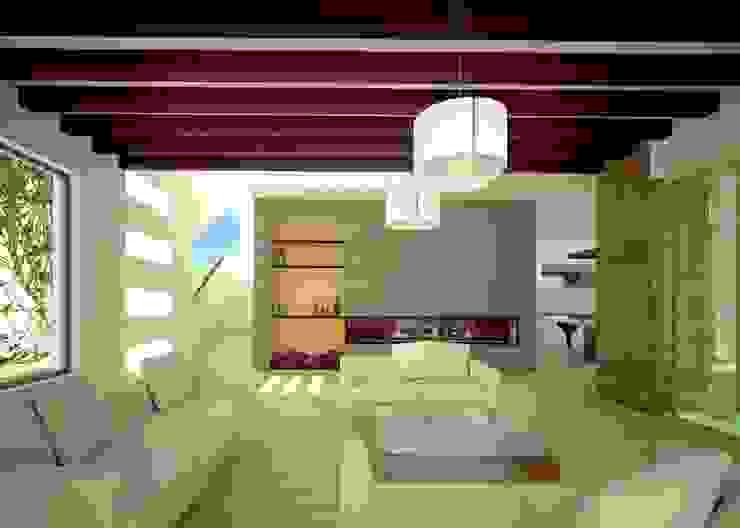 SALA DE ESTAR Salones modernos de Arquitectura Libre Moderno