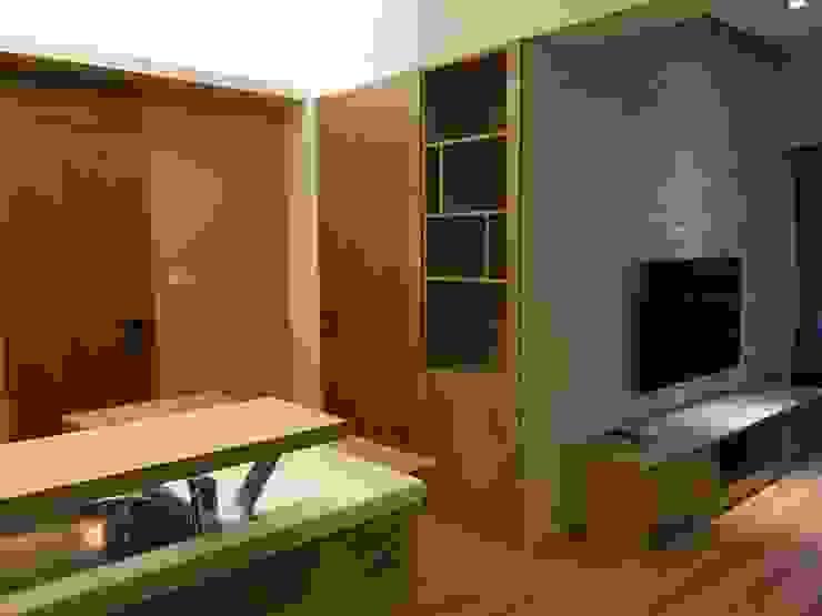 裝潢免百萬 實用機能宅 根據 捷士空間設計(省錢裝潢) 隨意取材風 木頭 Wood effect
