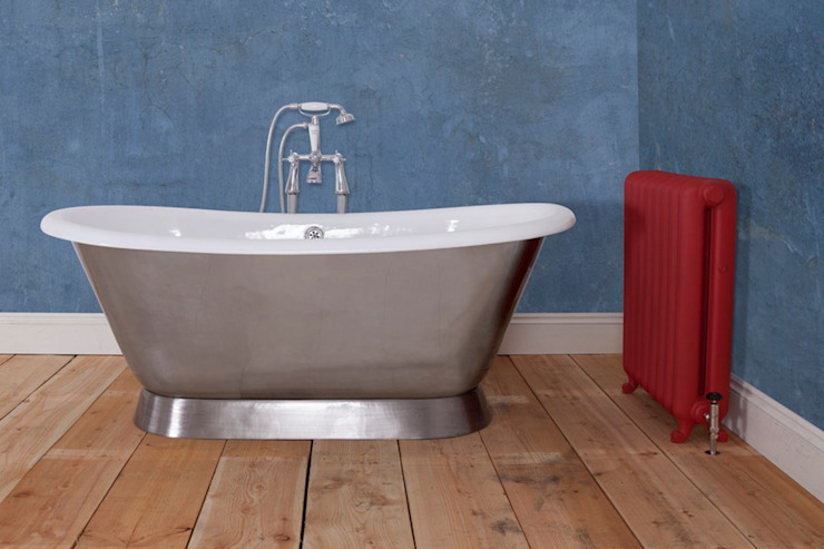 Montreal Cast Iron Bath Without Tap Holes от UKAA | UK Architectural Antiques Классический Железо / Сталь