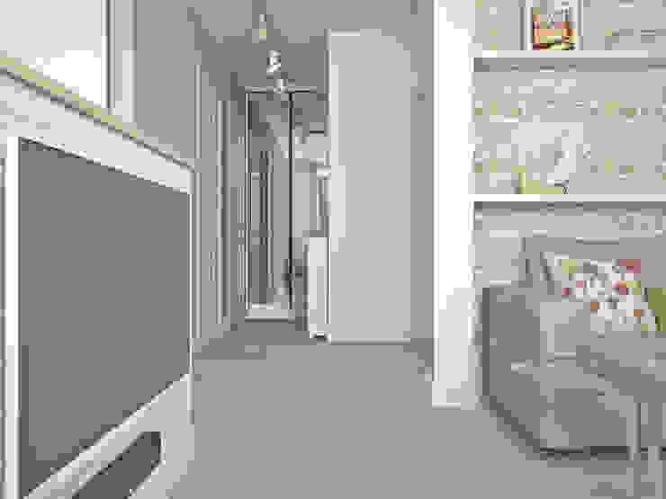 Salones de estilo minimalista de Ирина Рожкова - частный дизайнер интерьера Minimalista