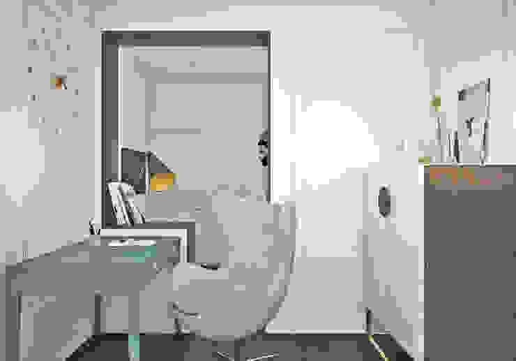 Espaços de trabalho ecléticos por Ирина Рожкова - частный дизайнер интерьера Eclético