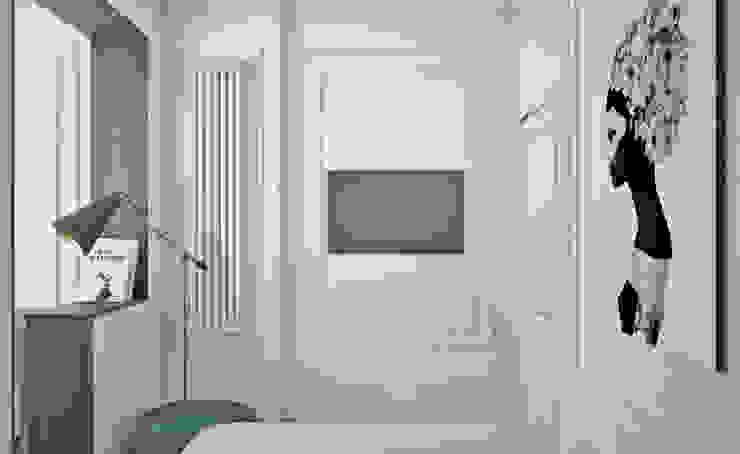 Eclectic style bedroom by Ирина Рожкова - частный дизайнер интерьера Eclectic