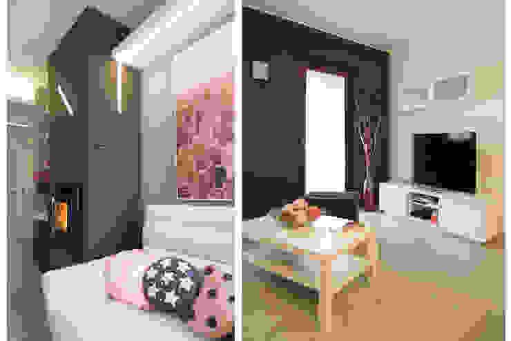 现代客厅設計點子、靈感 & 圖片 根據 Rachele Biancalani Studio 現代風