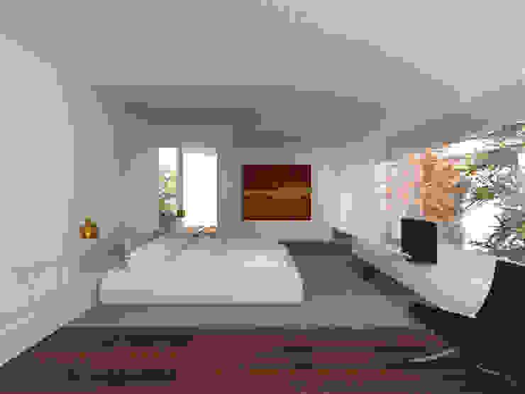 Спальня в эклектичном стиле от MIDE architetti Эклектичный МДФ