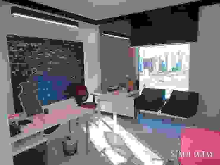 Espaces de bureaux modernes par Sinem Oktay Moderne