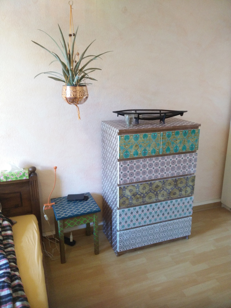 Ikea Malm Kommode In Morrocan Style Homify