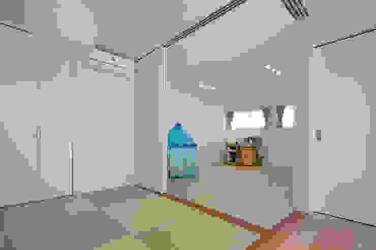 株式会社Fit建築設計事務所 Modern style media rooms