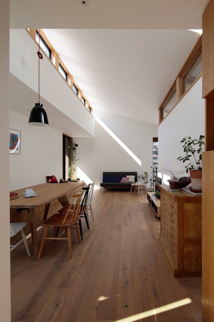 株式会社Fit建築設計事務所 Scandinavian style living room