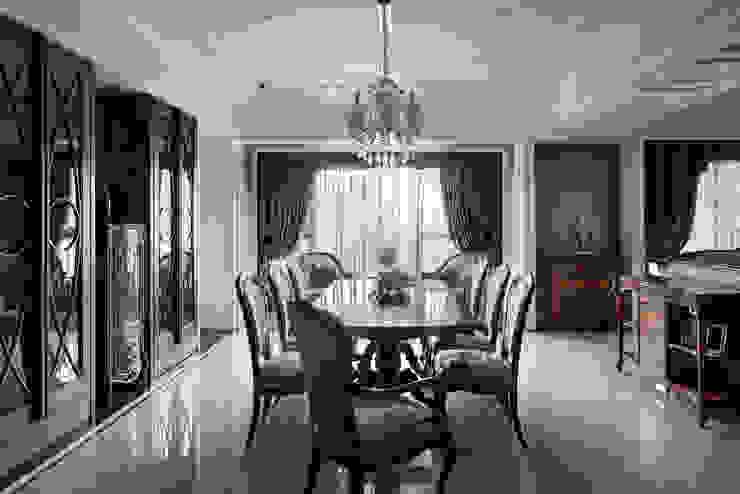 尋找古典的本質 大荷室內裝修設計工程有限公司 餐廳