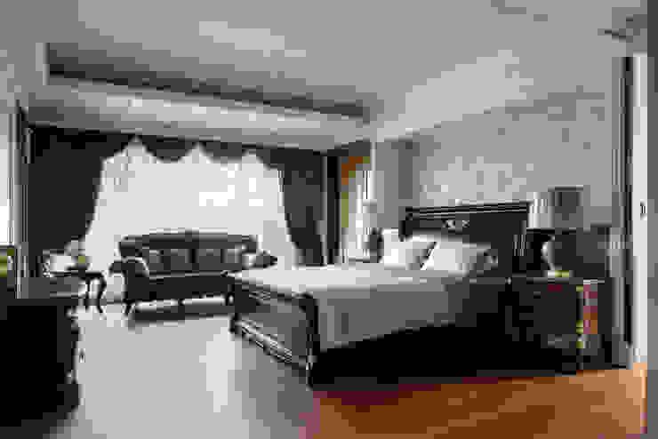尋找古典的本質 大荷室內裝修設計工程有限公司 臥室 Brown