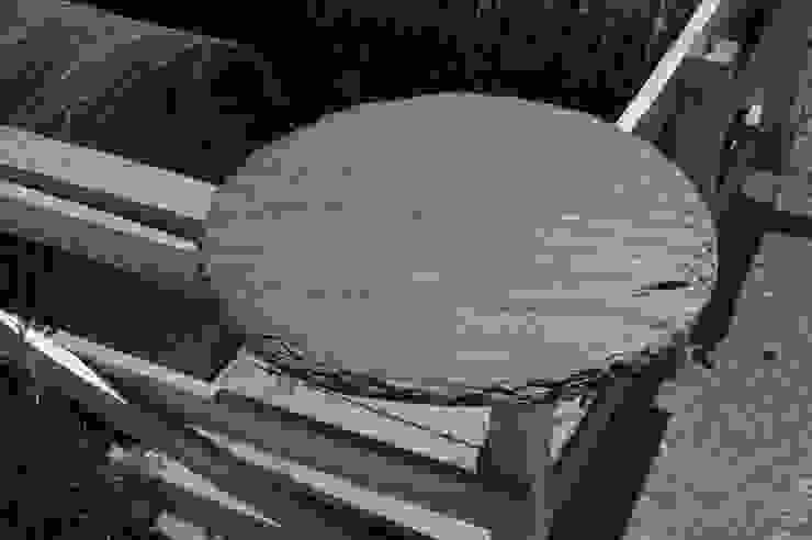 pizarra y tejado Interior landscaping Slate Black