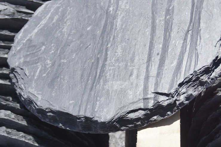 pizarra y tejado Walls & flooringTiles Slate Black