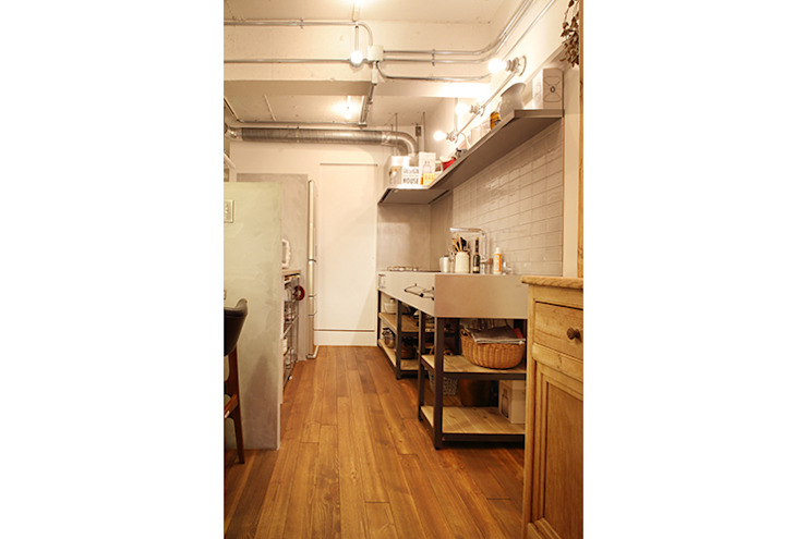 Eclectic style kitchen by SWITCH&Co. Eclectic