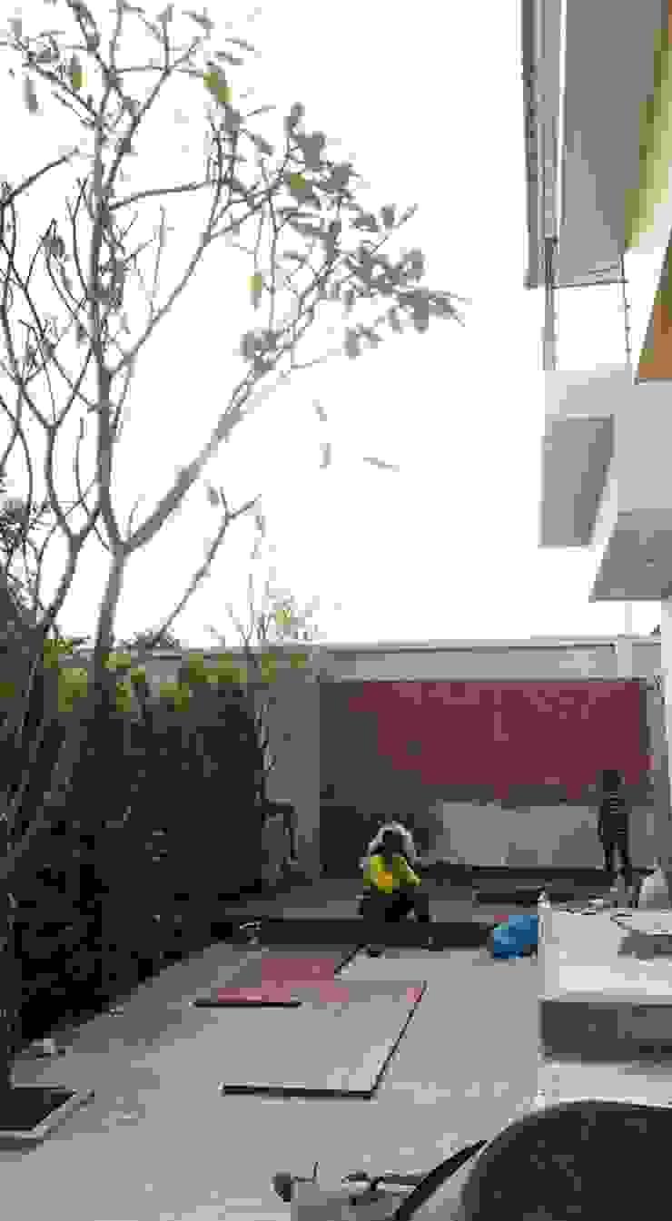 งานสวนบ้านคุณณัฏฐ์ ทิวไผ่งาม โดย 168 Noble Architecture