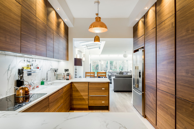 Abbeville Road Dapur Modern Oleh Orchestrate Design and Build Ltd. Modern
