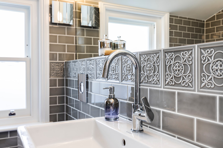 Abbeville Road Modern bathroom by Orchestrate Design and Build Ltd. Modern