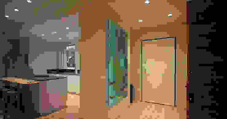 Corredores, halls e escadas modernos por Studio Maggiore Architettura Moderno