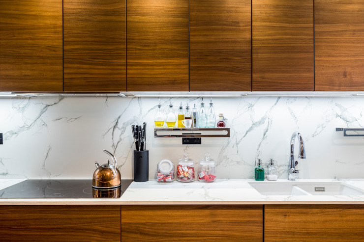 Abbeville Road Modern kitchen by Orchestrate Design and Build Ltd. Modern