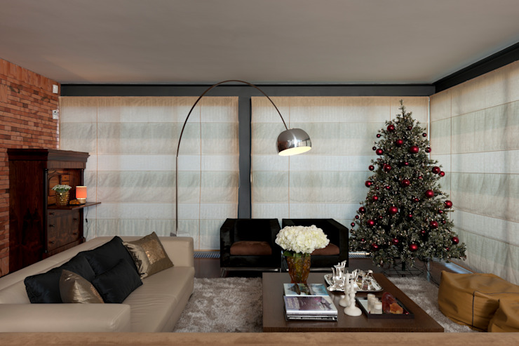 Pormenor sala estar Salas de estar modernas por B.loft Moderno