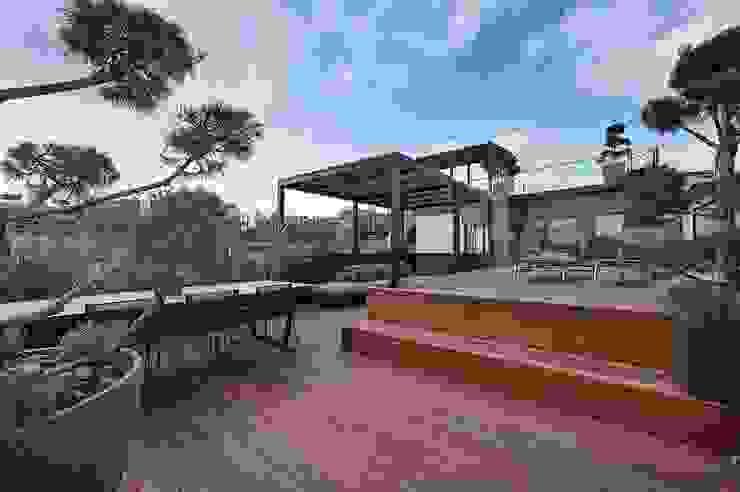 G 43/11 Balcon, Veranda & Terrasse modernes par FADD Architects Moderne