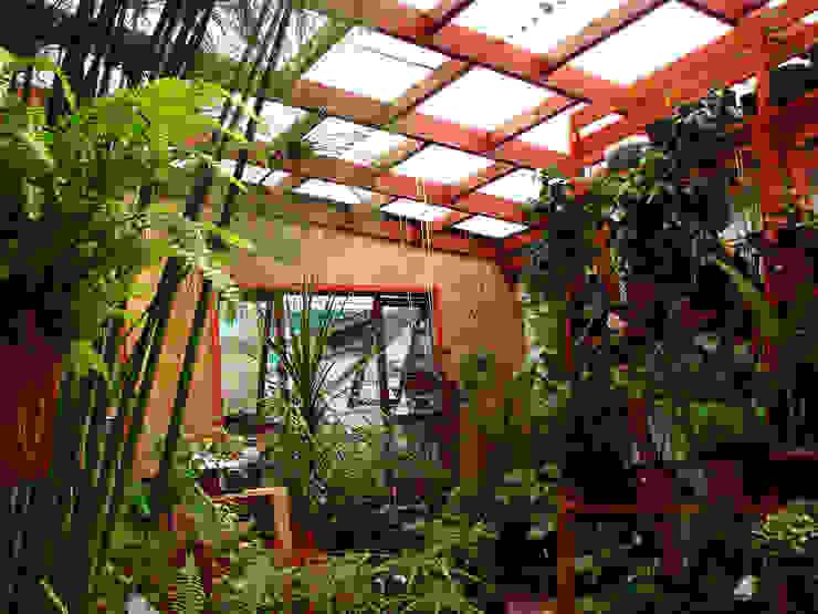 Jardins rústicos por Vortice Design Ltda Rústico