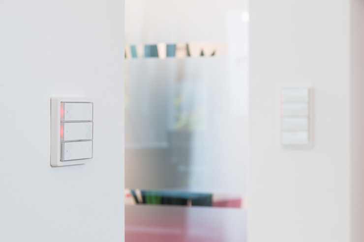 casaio | smart buildings Modern Living Room