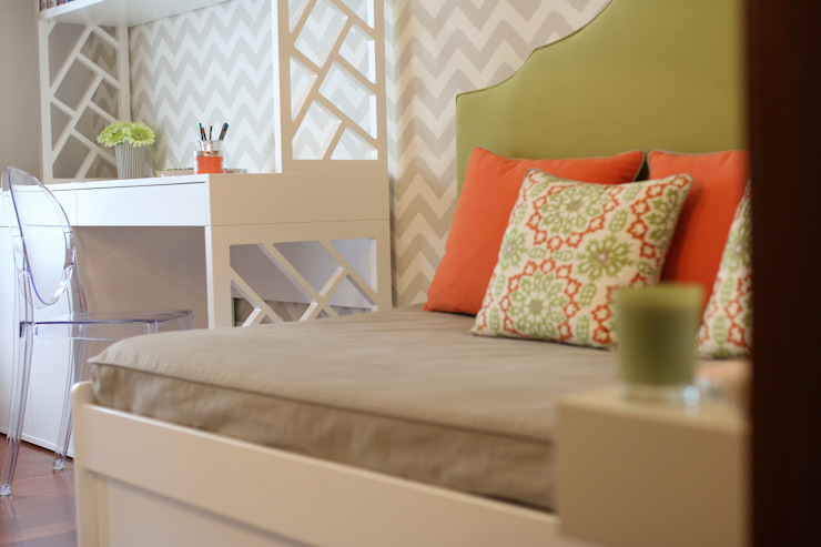 Quarto de Adolescente_ Small and Happy Quartos modernos por Perfect Home Interiors Moderno