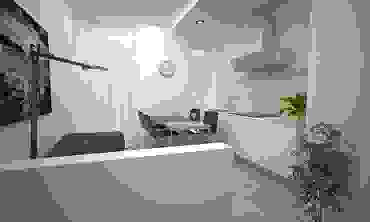 VIA CEVA Soggiorno moderno di LAB16 architettura&design Moderno